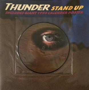 "Thunder ‎- Stand Up (7"") (Picture Disc) (EX/EX-)"